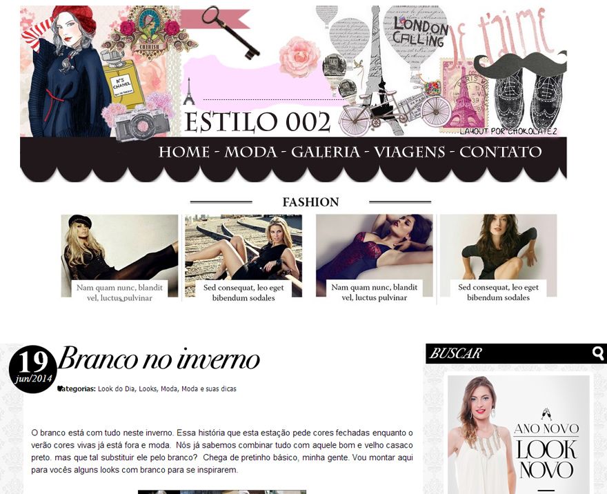 Blog Feminino 002