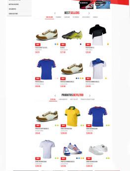 modelo site Loja Sportshoes
