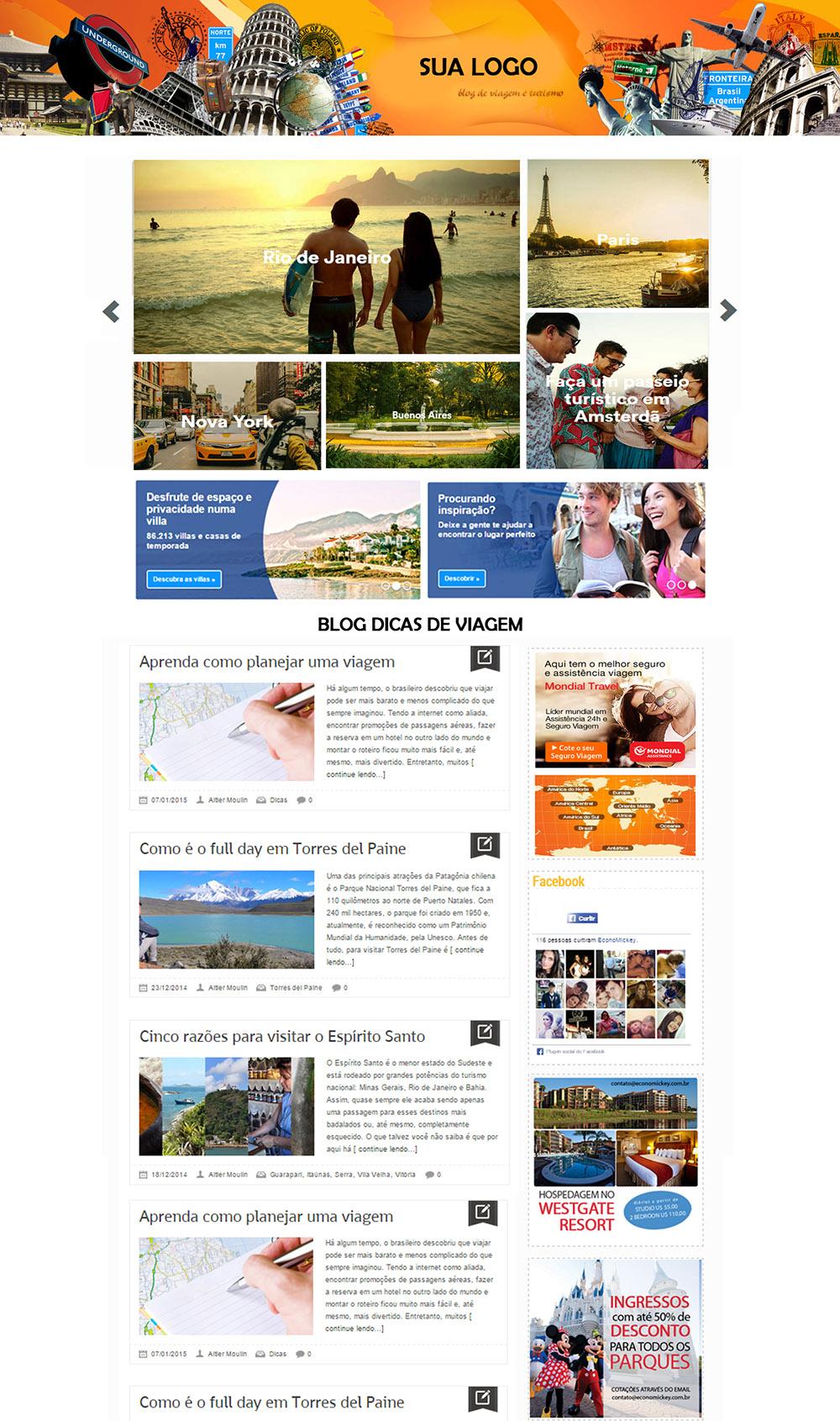 Blog Site de Turismo 001