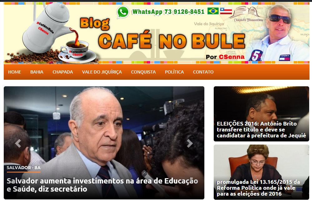 Blog Café No Bule