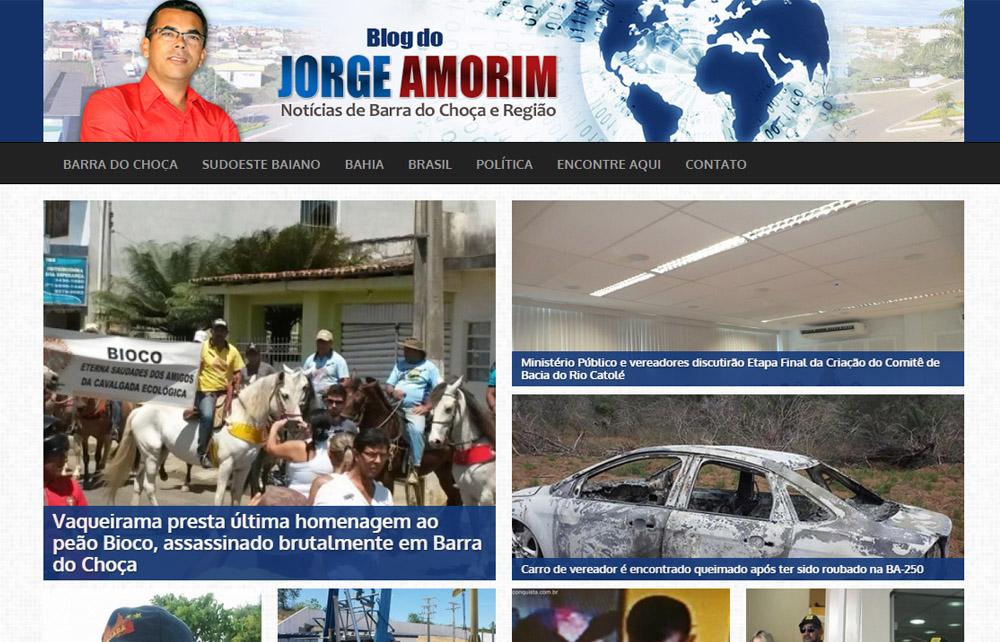 Blog do Jorge Amorim 2015