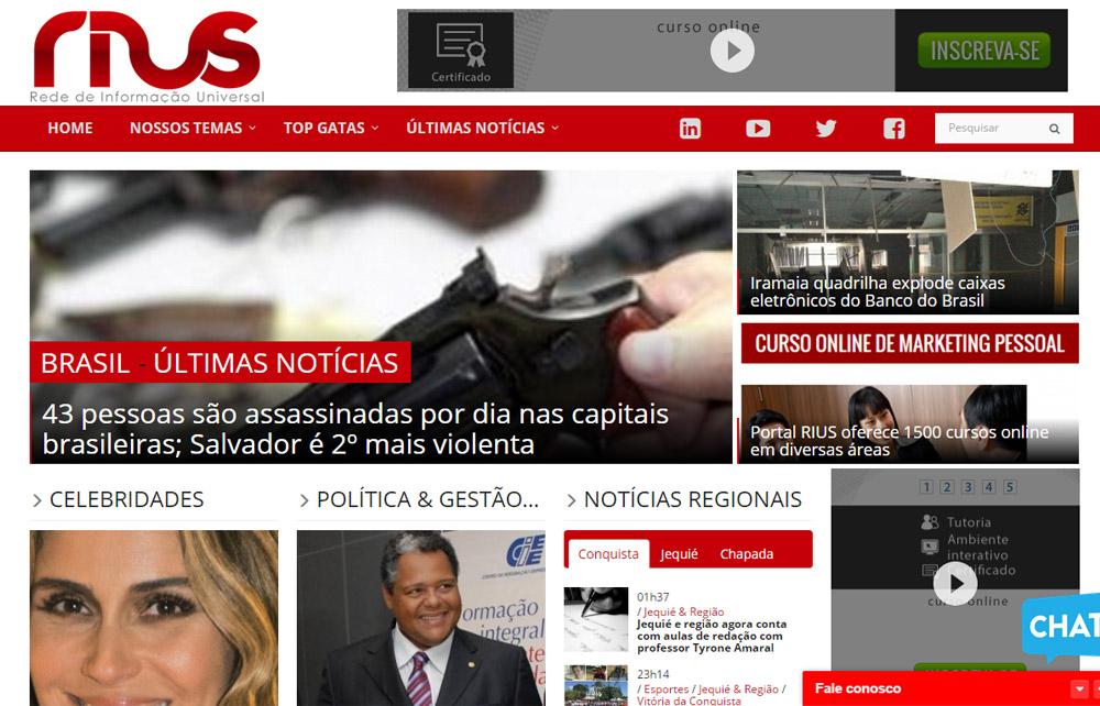 Site Rius Noticias