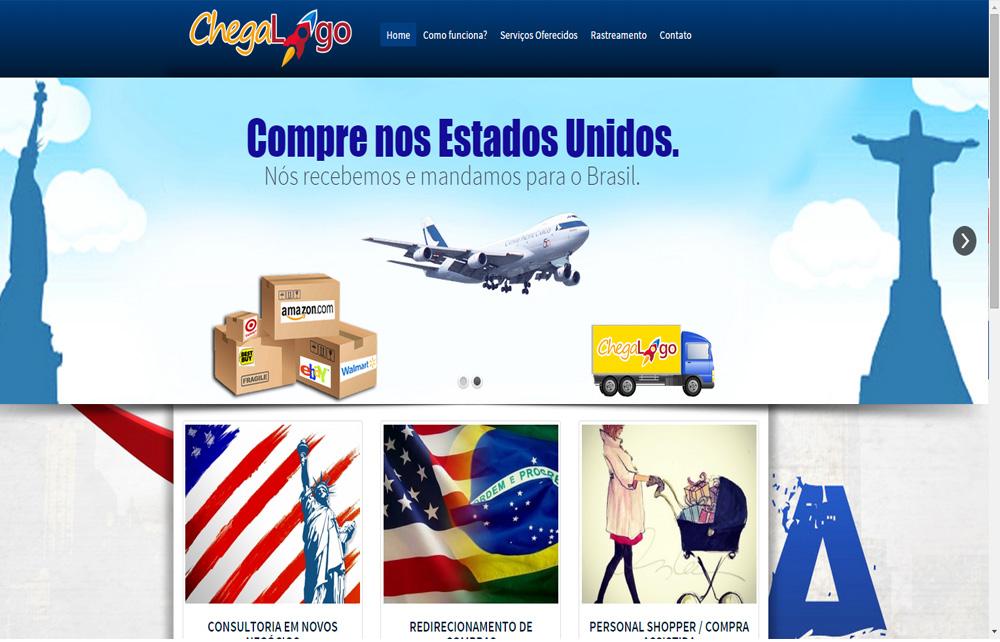 Chega Logo – Goiânia Brasil
