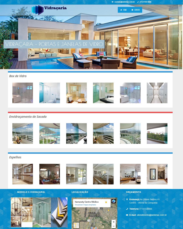 Website para Vidraçaria 004
