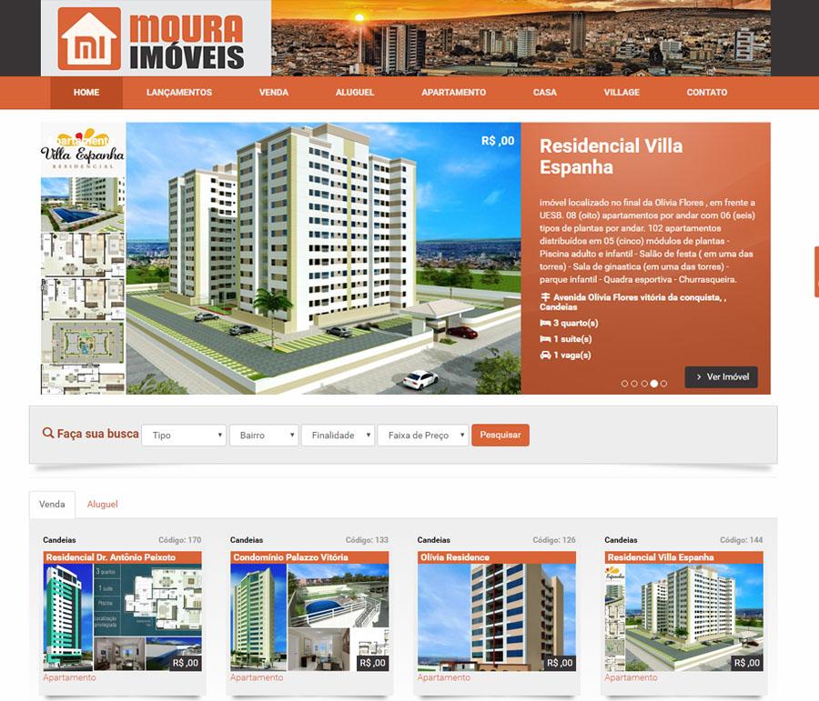 Modelo Imobiliária – Moura Imóvel