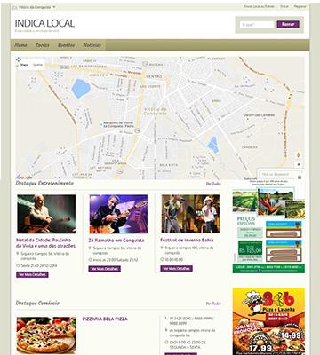 Site Guia Comercial