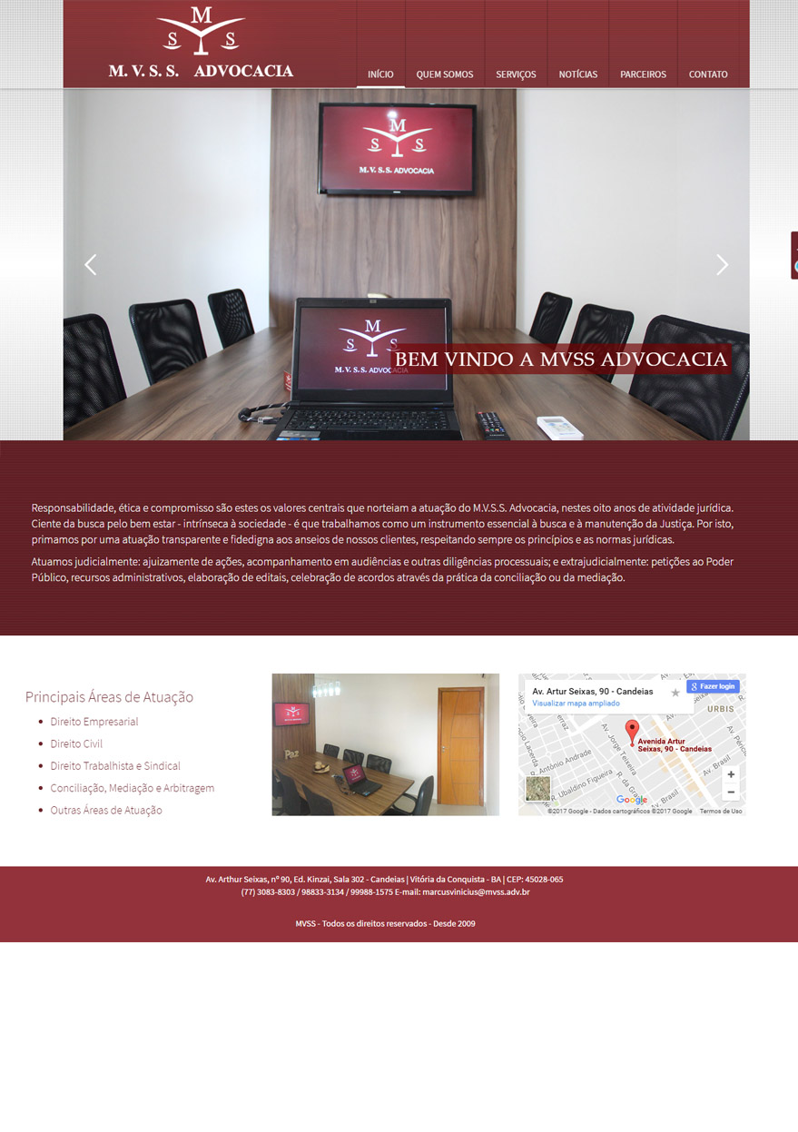 mvss – Site Advogados