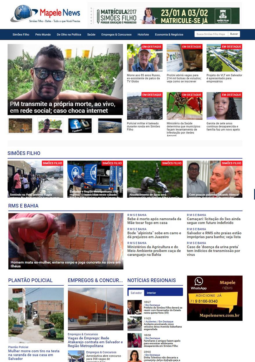 Mapele News – Simões Filho Salvador