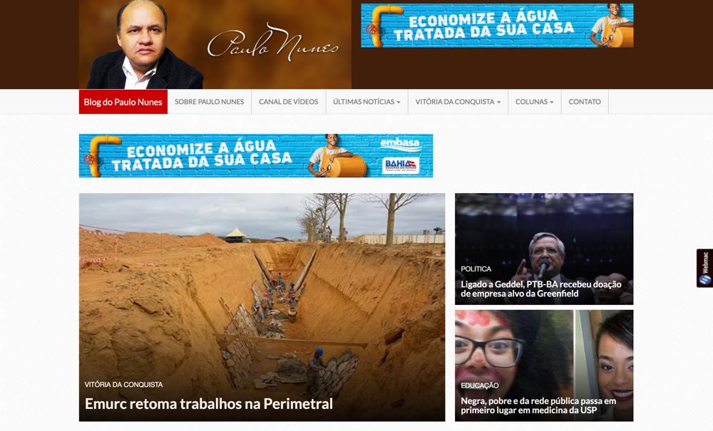 Blog Paulo Nunes