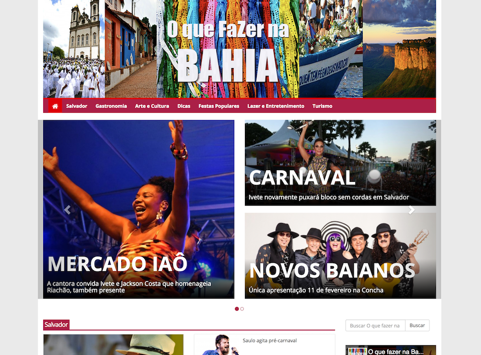 O que Fazer na Bahia – Salvador