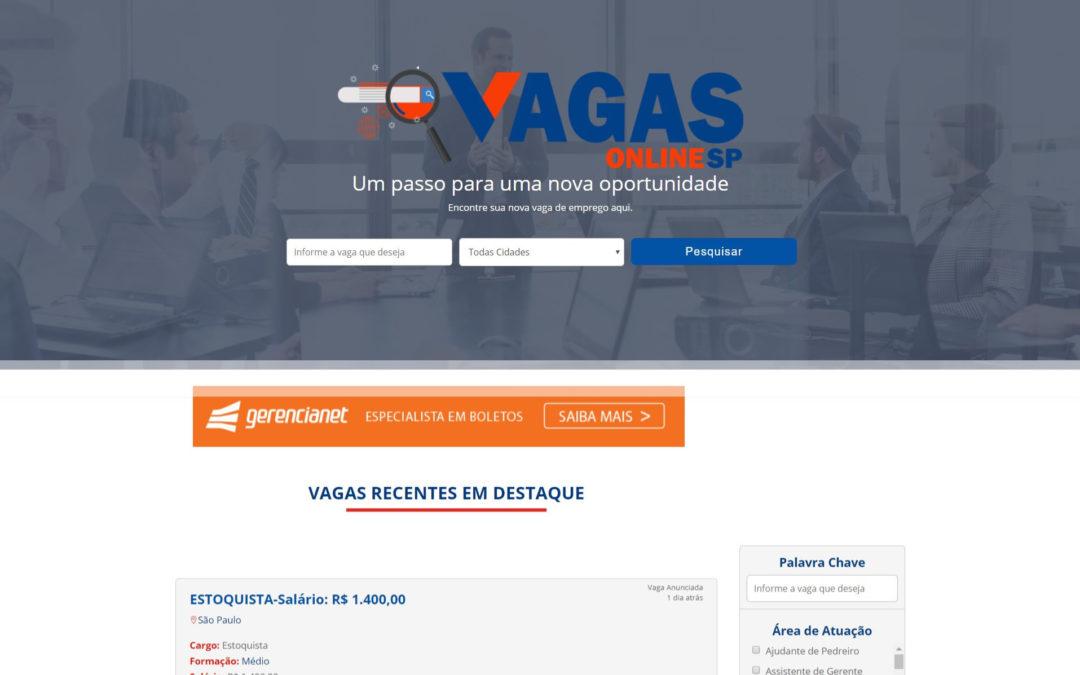 Site de Vagas Online